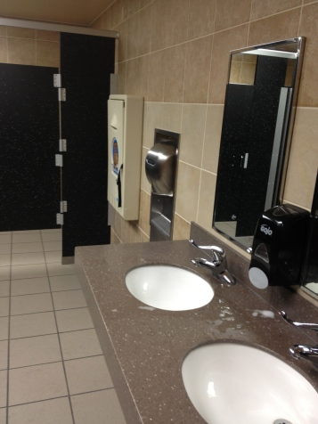 Gas Station 1 Bathroom At A Time